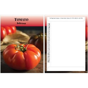 Standard Series Tomato Seed Packet - Digital Print /Packet Back Imprint